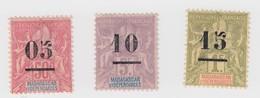 MADAGASCAR N° 48*-49*-50* - Madagascar (1889-1960)