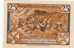 Billet Allemand - 25 Pfennig - Thale Am Harz 1922 - [11] Emissions Locales