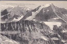 74----La Grande Casse, Le Mont Pourri Et Le Mont Blanc Vus De Chasseforêt--voir 2 Scans - Chamonix-Mont-Blanc