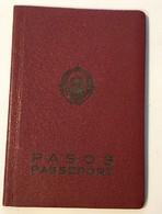 PASSPORT   REISEPASS  PASSAPORTO   PASSEPORT YUGOSLAVIA  1964. VISA TO: GERMANY , SUISSE , AUSTRIA - Historische Dokumente