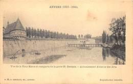 Antwerpen Anvers  Vue De La Tour Bleue Et Remparts De La Porte St.Georges, Actuellement Avenue Des Arts     I 5398 - Antwerpen
