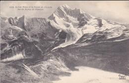 74---Le Lac Blanc Et La Pointe De L'échelle Vus Du Refuge De Chaviere--voir 2 Scans - Chamonix-Mont-Blanc