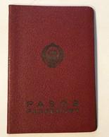 PASSPORT   REISEPASS  PASSAPORTO   PASSEPORT YUGOSLAVIA  1961. VISA TO: WEST GERMANY , AUSTRIA - Historical Documents