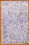 Mi228 Exeptionnel Témoignage Poilu Décembre 1918 Janvier 1919 à Bord Du KLARA Poursuite Ennemi BULGARO-BOCHES CpaWW1 - War 1914-18