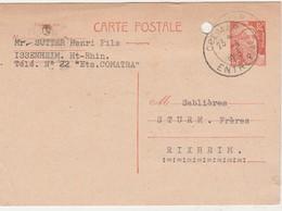 Entier 885 / Carte Commerciale Sutter COMATRA / 68 Issenheim - Entiers Postaux