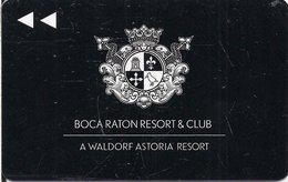 STATI UNITI  KEY HOTEL    Waldorf Astoria Resort -  Boca Raton Resort & Club FL - Cartes D'hotel