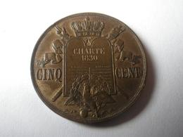 Cinq Centimes 1847 (Essai A La Charte 1830) Louis Philippe I - France