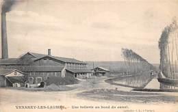 21    .     N° 202022    .        VENAREY LES LAUMES         .          UNE TUILERIE AU BORD DU CANAL - Venarey Les Laumes
