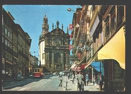 Porto - Calçado Dos Clérigos Com Igreja E Torre - Tram / Tranvia / Tramway - Animation - Porto