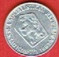 CZECHOSLOVAKIET # 5 Haléřů FRA 1963 - Czechoslovakia