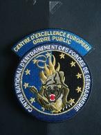 Écusson Gendarmerie Centre National Des Forces De La Gendarmerie - Police