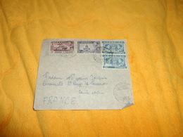 DEVANT DE LETTRE ANCIENNE DE 1950 ?.../ ETHIOPIE....CACHETS ADDI ABESA ?...+ TIMBRES X4 - Ethiopie