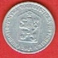 CZECHOSLOVAKIET # 10 Haléřů FRA 1961 - Czechoslovakia