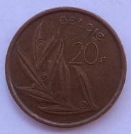 Belgium 20 Francs - 07. 20 Francs