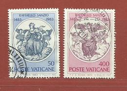 Vatican N° 743 - 744 - Vaticano (Ciudad Del)