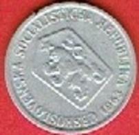 CZECHOSLOVAKIET # 10 Haléřů FRA 1963 - Czechoslovakia