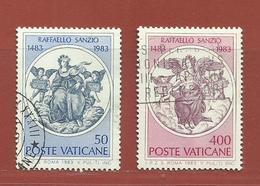Vatican N° 743 - 744 - Vatican