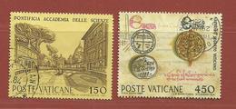 Vatican N° 751 - 752 - Vaticano (Ciudad Del)
