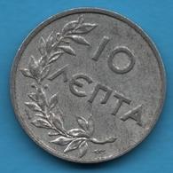 GREECE 10 LEPTA 1922 KM#66.1 - Greece