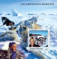 Guinea Bissau 2003   P.E.Victor  Ethnologist And Explorer. Antarctica,  Foxes - Guinea-Bissau