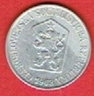 CZECHOSLOVAKIET # 25 Haléřů FRA 1963 - Czechoslovakia