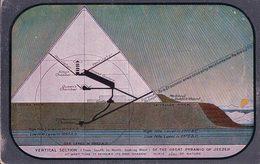 Egypte, Die Grosse Pyramide Von Gizeh (6) Usure Des Angles - Pyramids