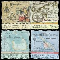 COCOS AUSTRALIE 483/86 Cartes Marines - Géographie
