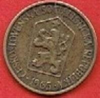 CZECHOSLOVAKIET # 1 Koruna   FRA 1965 - Czechoslovakia
