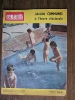 REGARDS-1959-JEANNE MOREAU,le Cinéma D'alors,GENEVILLIERS,GOUEX(86),LE HAVRE,GENTILLY,élections,etc.... - Informations Générales