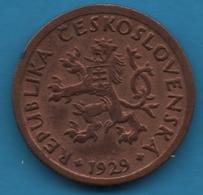 CESKOSLOVENSKA 10 Haleru 1929 - Czechoslovakia