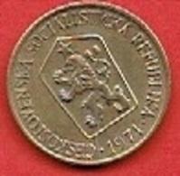 CZECHOSLOVAKIET # 1 Koruna   FRA 1971 - Czechoslovakia