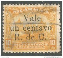 684 Nicaragua 1922 Postal Tax (NIC-401) - Nicaragua