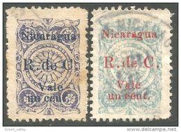 684 Nicaragua 1922 Armoiries Coat Of Arms (NIC-402) - Nicaragua