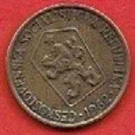 CZECHOSLOVAKIET # 1 Koruna   FRA 1962 - Czechoslovakia