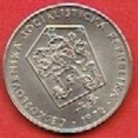 CZECHOSLOVAKIET # 2 Koruna   FRA 1972 - Czechoslovakia