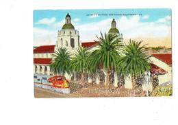 Cpa - California - SANTA FE STATION - SAN DIEGO - Train - N°63 Hopkins News Agency 29181 - San Diego