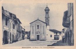 BENEVAGIENNA S. ROCCO E VIA VITTORIO EMANUELE   VG AUTENTICA 100% - Cuneo