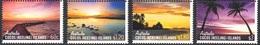COCOS AUSTRALIE 484/87 Num Michel , Couchers De Soleil - Cocos (Keeling) Islands