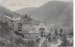 LUZIERES ( Le Tarn Illustré ) : L'Usine à Ciment .(1922 ) - France