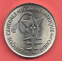 100 Francs , Etats De L' Afrique De L' Ouest , Nickel , 1975 , N° KM # 4 , Etat: SUP - Monnaies