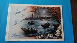 Carte Postale Souvenir Du Maroc 1957 Rabat - Rabat