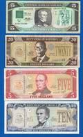 Liberria 4 Billets - Liberia