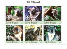 Guinea Bissau 2003 Koala Fauna - Guinea-Bissau