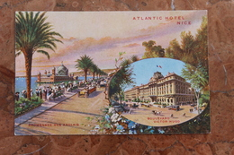 NICE (06) - ATLANTIC HOTEL - PROMENADE DES ANGLAIS ET BOULEVARD VICTOR-HUGO - Cafés, Hotels, Restaurants