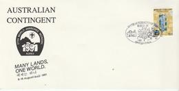 (D0843) 17iéme Jamboree Mondial Corée De Sud 1991 Oblitération Du 1991 8 10 - Lettres & Documents
