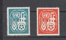 NATIONS  UNIES  NEW-YORK  1959   N° 68 - 69    NEUFS**   CATALOGUE YVERT&TELLIER - Ungebraucht