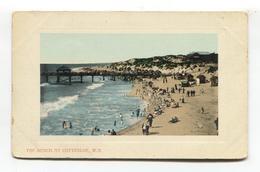Cottesloe, Western Australia - The Beach, Pier, People - Old Postcard - Perth