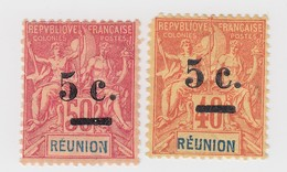 REUNION N° 52* 53* - Réunion (1852-1975)