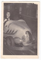LUNA PARK - AUTOSCONTRO - GO KART - Foto Originale - Persone Anonimi