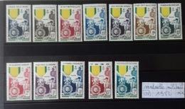 """Série Coloniale """" MEDAILLE MILITAIRE"""" - 1952 Centenaire De La Médaille Militaire"""